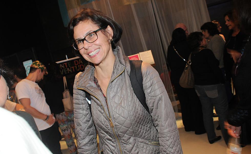 Gisela na pré-estréia do Documentário Fonte da Juventude