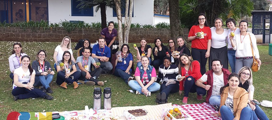 voluntários da BRF